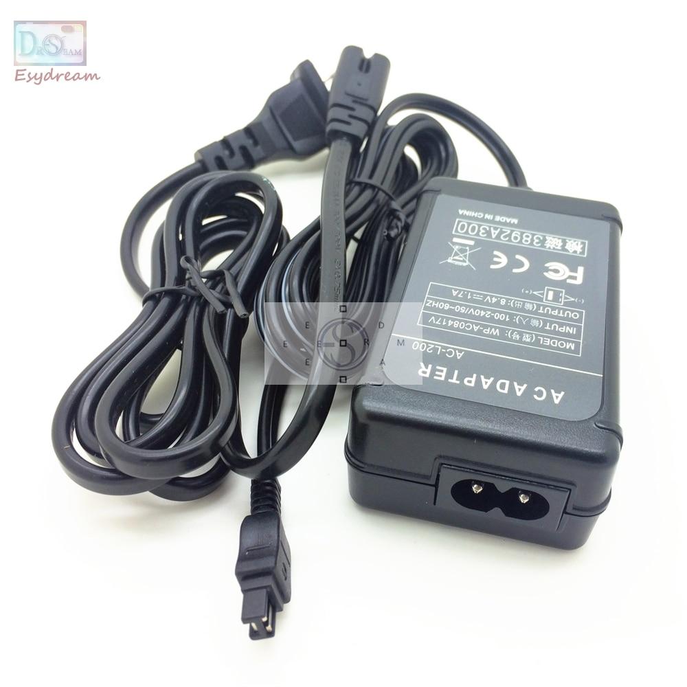 AC Power Adaptateur Caméscope Chargeur Pour Sony ACL25 AC-L25 ACL200 AC-L200