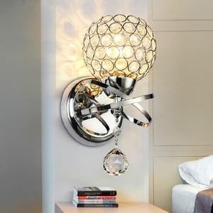 Image 4 - แฟชั่นคริสตัลคริสตัลLedห้องนอนห้องนอนห้องนอนบันไดโคมไฟติดผนังในร่ม