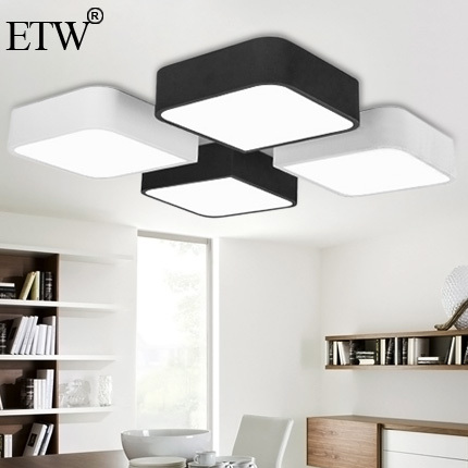 Lamparas Modernas De Techo. Cool Modernos Breves Luces De Techo Led ...