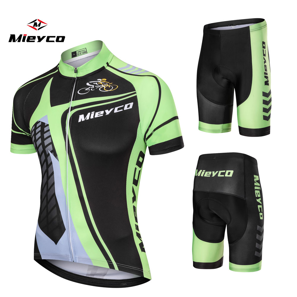 Mieyco Pro Cycling Jerseys Set Summer Cycling Wear Mountain Bike Clothes Bicycle Clothing MTB Bike Clothing Cycling Suit