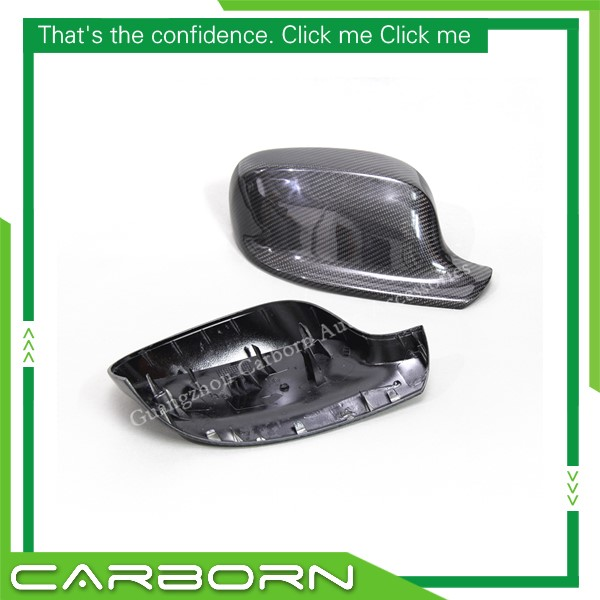 For BMW X1 E84 2011 2013 X3 F25 2010 2013 OEM Replacement Style Carbon Fiber Body Side Rear View Mirror Cover in Mirror Covers from Automobiles Motorcycles