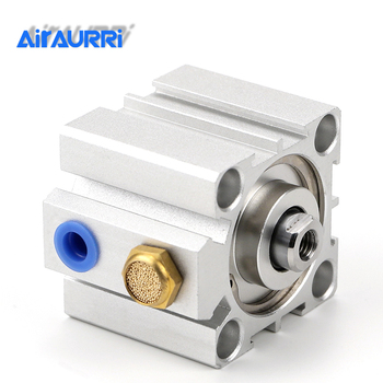 Compact cylinder single acting-push SSA series  bore 16 20 25 32 40 50 63 80 stroke 5mm 10mm 15mm 20mm 30mm 40mm 50mm bore 50mm 50mm stroke dnc fixed type pneumatic cylinder air cylinder dnc50 50