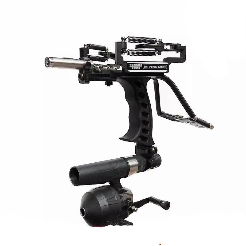 G5 лазерной Рогатка черный Охота лук катапульты Рыбалка лук открытый мощный Рогатка для Стрельба Арбалет Лук Стрельба стрелки