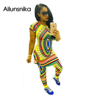 Ailunsnika New Arrival 2017 Spring Hot Sales Sexy Novel Design African Tribal Peoples Totem Printing Pants