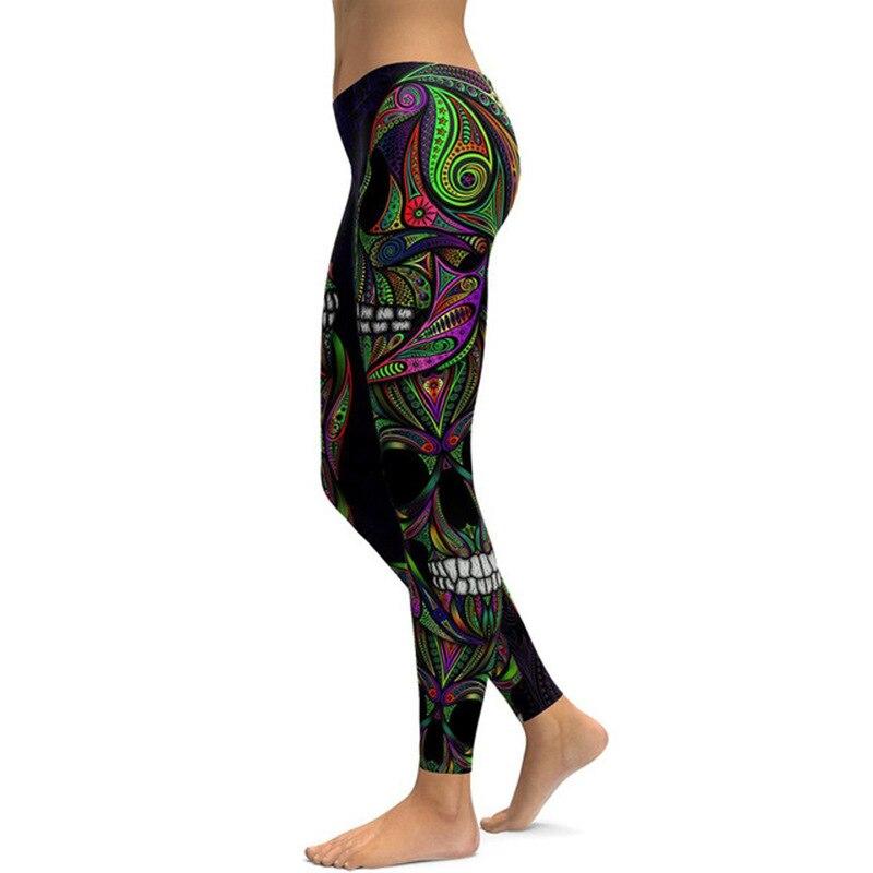 Domidofa Printing Yoga Trousers Bodybuilding Pants leggins sport femme women fitness leggings clothing in Yoga Pants from Sports Entertainment