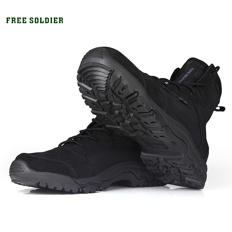 Climbing Boots Shoes Sneakers Free-Soldier Hiking Outdoor Sports Tactical Men Lightweight title=