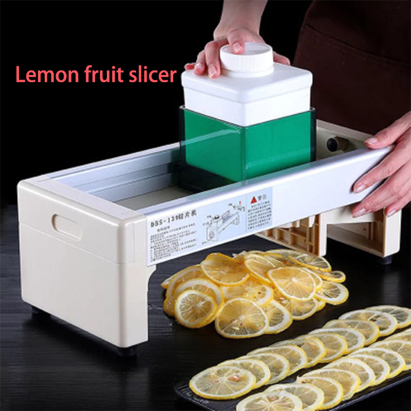Lemon slicer commercial Stainless Steel Manual Fruit Vegetable Potato Home Use Orange Slicing Machine For Tea Shop Food Drying(China)