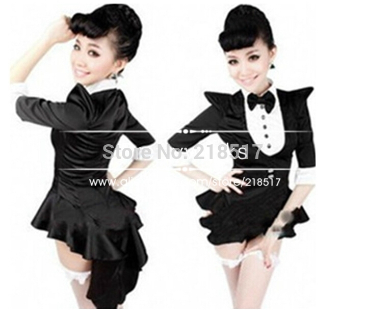 Stage & Dance Wear Rational Black Latin Dance Dress Girl Clothes For Dancing Clothing Costume Kids Dance Cloth Gauze Girl Salsa Dresses Back To Search Resultsnovelty & Special Use