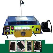 BEST-658A Professional питания вакуумный насос ЖК дисплей разделитель сенсорного экрана машина с светодиодные фонари для ремонта телефона и реконструкции