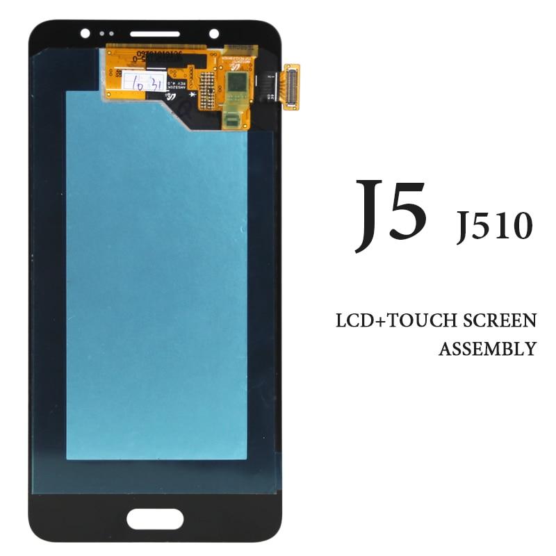 original Parts For Samsung Galaxy J5 2016 LCD Display Digitizer Assembly For Samsung J5 J510 J510F J510M LCD Screen