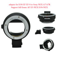 Commlite Auto Focus mount adapter for EOS EF EF S to Sony NEX A7/A7R Support full frame AF EF NEX EOS NEX