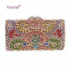 Fawziya Day Bag Crystal Evening Bags For Womens Purses And Handbags For Weddings