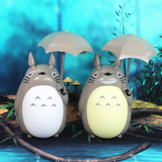 Aliexpress Buy cartoon My Neighbor Totoro lamp led night – Desk Lamps for Kids
