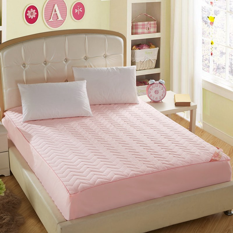 100 Cotton Sandwich Embroidery Bed Cover Mattress Simmons Protective Sleeve Hotel
