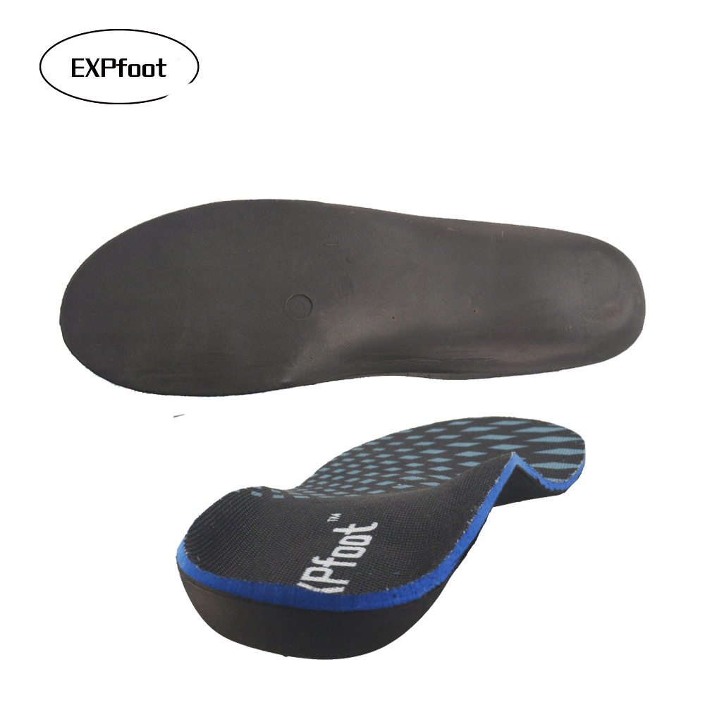 Orthotic Arch Support Insoles for Flat Foot Memory foam Massaging Feet Care healthy orthopedic insert for men and women shoes