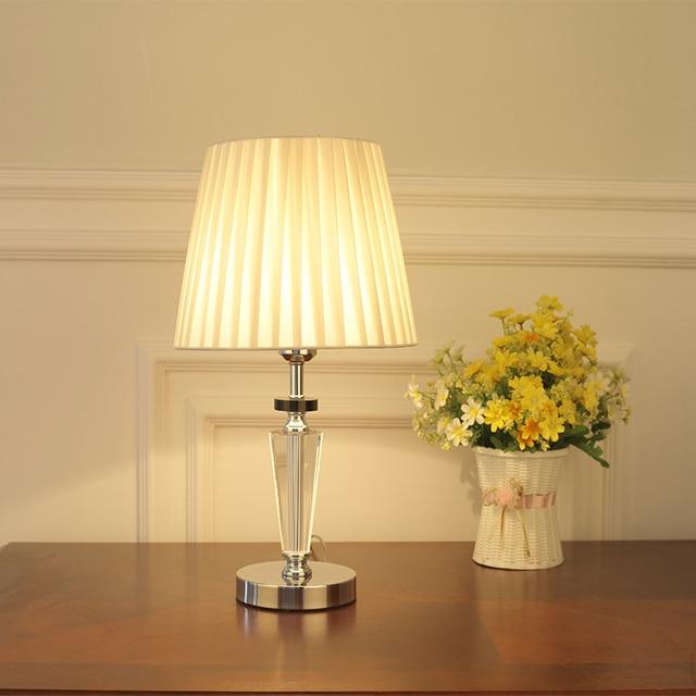 Warm bedroom table lamp bedside lamp simple creative cute Korean ...