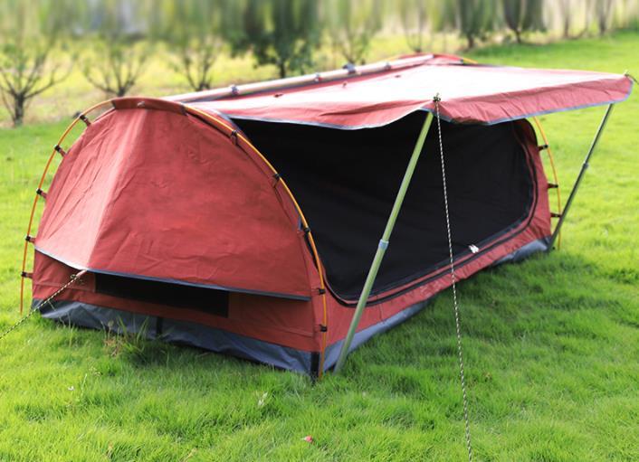 2 personnes arc forme Camping auvent extérieur étanche pliant lit de couchage auvent auto conduite plage alpinisme cyclisme tente