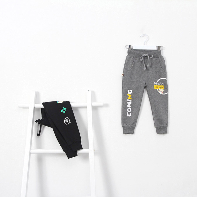 New Boys Sports Long Running Pants Children's wear baby kids casual pants Jogging Enfant Garcon Children Trousers DS29