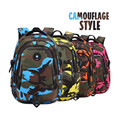 new 2017 mochila camuflaje children school bags for boys rucksack camouflage backpack kids blue waterproof bookbag men backpack
