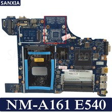 Купить с кэшбэком KEFU AILE2 NM-A161 Laptop motherboard for Lenovo ThinkPad E540 Test original mainboard GM