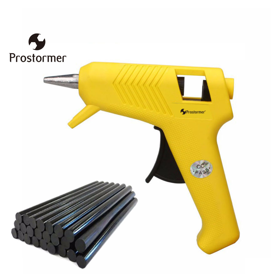 Prostormer 20 Вт термоклеевой пистолет использовать мм 7 мм Клей-карандаш EUplug промышленные мини-пистолеты термо-электрический тепловой температурный инструмент
