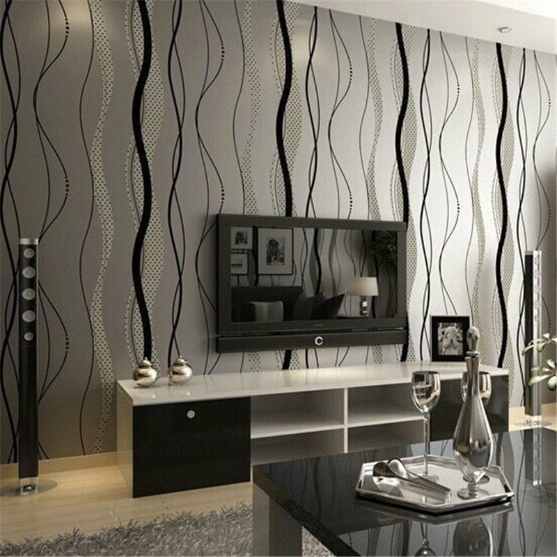 beibehang of wall paper mural Modern Simple Wave Wallpaper Non-Woven Striped Wallpaper Roll papel parede contact paper bridgestone excedra g702r cruiser rear motorcycle tire 180 70 16