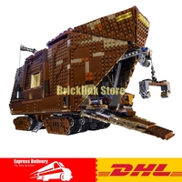 IN STOCK LEPIN Star Building Bricks Wars 05038 3346Pcs Figure Force Awakens Sand Crawler Model Blocks