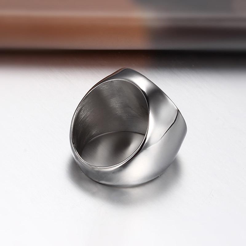 316L Stainless Steel Cincin Masonik Untuk Pria, Master Masonik Cincin - Perhiasan fashion - Foto 3
