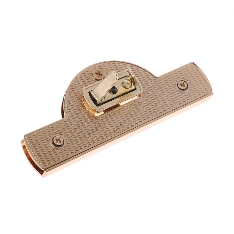 Metal Clasp Turn Lock Twist Locks for DIY Handbag Purse Craft Shoulder Bag Hardware Accessories