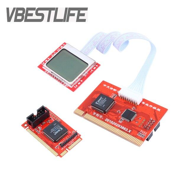 לוח PCI האם מנתח אבחון בודק שלאחר בדיקת כרטיס למחשב נייד שולחן עבודה PTI8
