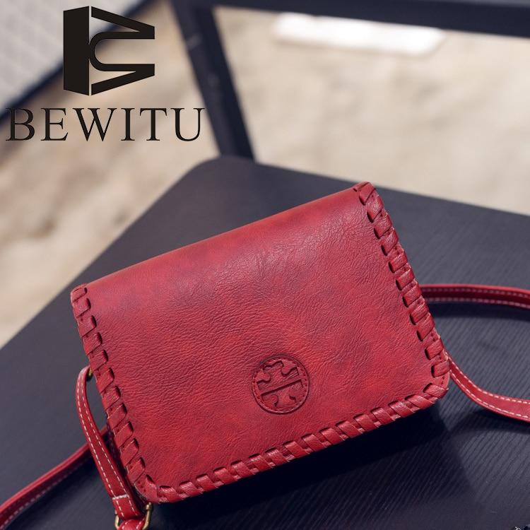 Simple Small PU Square Bag MINI Women New Fashion Shoulder Bag Retro Oblique Cross Package Brown Amercian Messenger Bag 6041