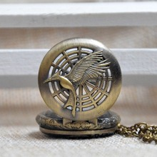 Hunger Games Quartz Pocket Watch