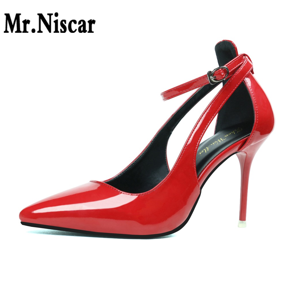 2018 Hot Sale Europe Fashion Concise Sexy Women D'orsay Shoes Pointed Toe Thin Super High Heels Sandals Summer Pumps Woman Red morazora hot sale new arrival pointed toe women sandals high heels shoes woman summer shoes party sexy fashion popular