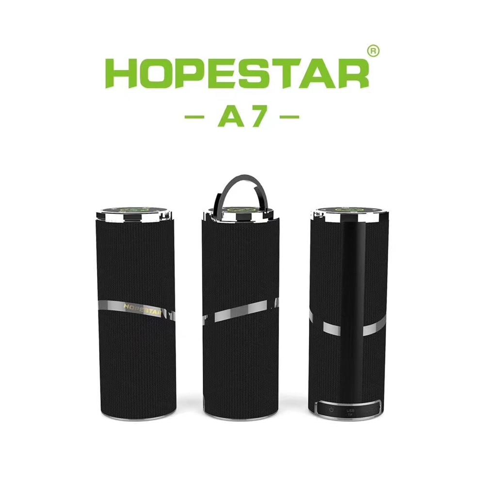 цена на Hopestar Portable Bluetooth Speakers Wireless Caixa de som Soundbar Super Bass Stereo MP3 Support TF Card USB Speakers FM AUX
