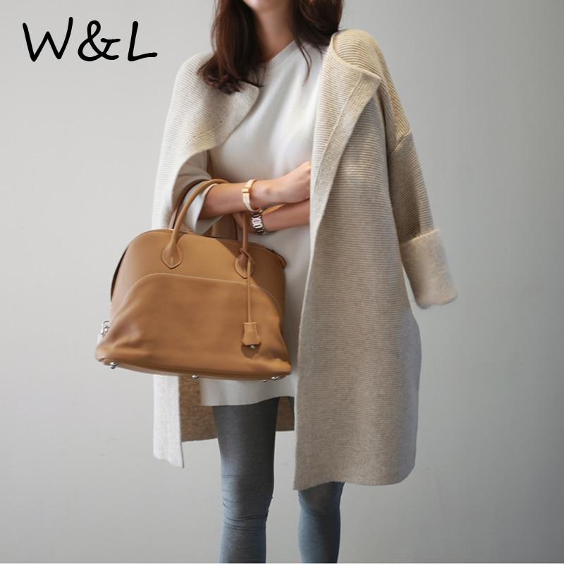 2017 women knitting long cardigan female Loose casual coats knitted jumper warm winter autumn sweater open stitch outerwear