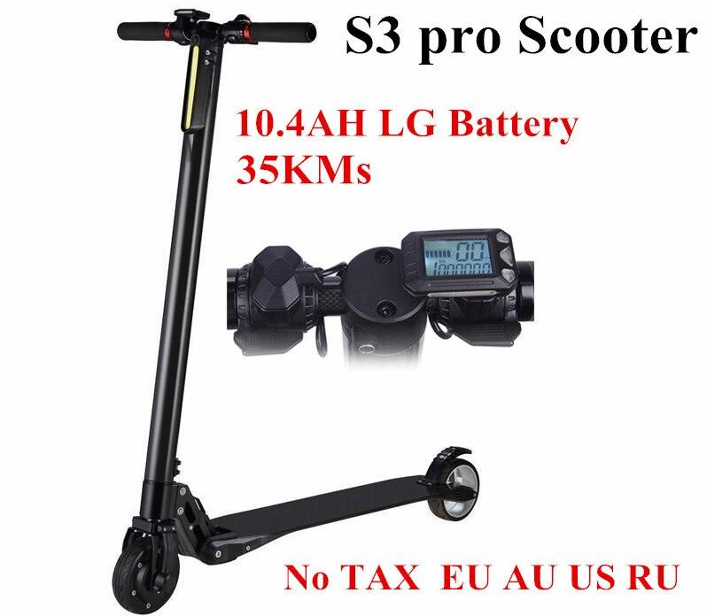 lectrique scooter s pro pliable carbone puissant smart hoverboard roue electrique planche roulettes lg