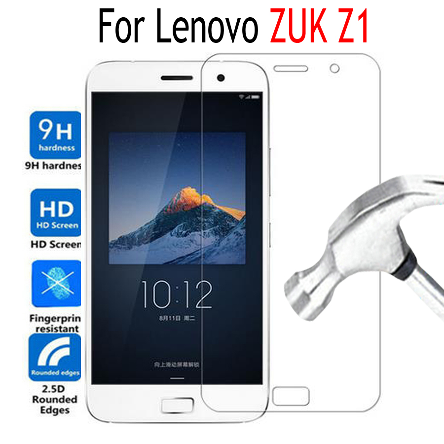 Premium Tempered Glass Film For Lenovo ZUK Z1 Screen Protector Cover Mobile Phone Protective Film Case with Clean Tools