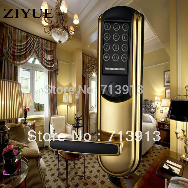 Electronic Smart home Intelligent Combination Keypad Password Door Lock Password / Mechanical Key/ Card Unlock ET830pw цена