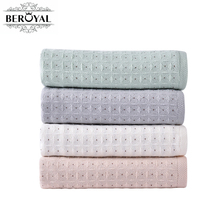 New 2017 Beroyal 1pc Bath Towel Cotton 100%Pure Cotton Soft Restoring Ancient Ways Absorb Water And Do Not Lose Hair Bath Towel