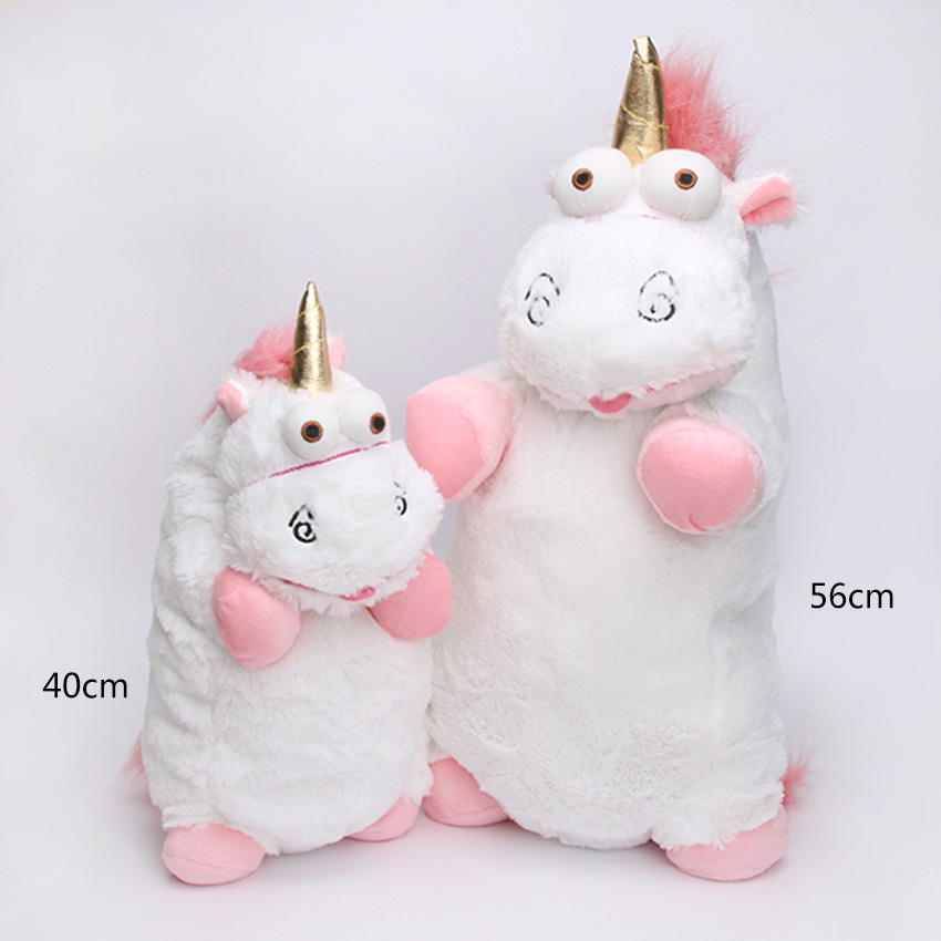 40cm 56cm Unicorn Stuffed plush font b toys b font Cartoon Anime Animals Doll Figures Cute