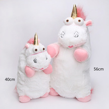 40cm 56cm Unicorn Stuffed plush toys Cartoon Anime Animals Doll Figures Cute unicorn Pillow soft Plush