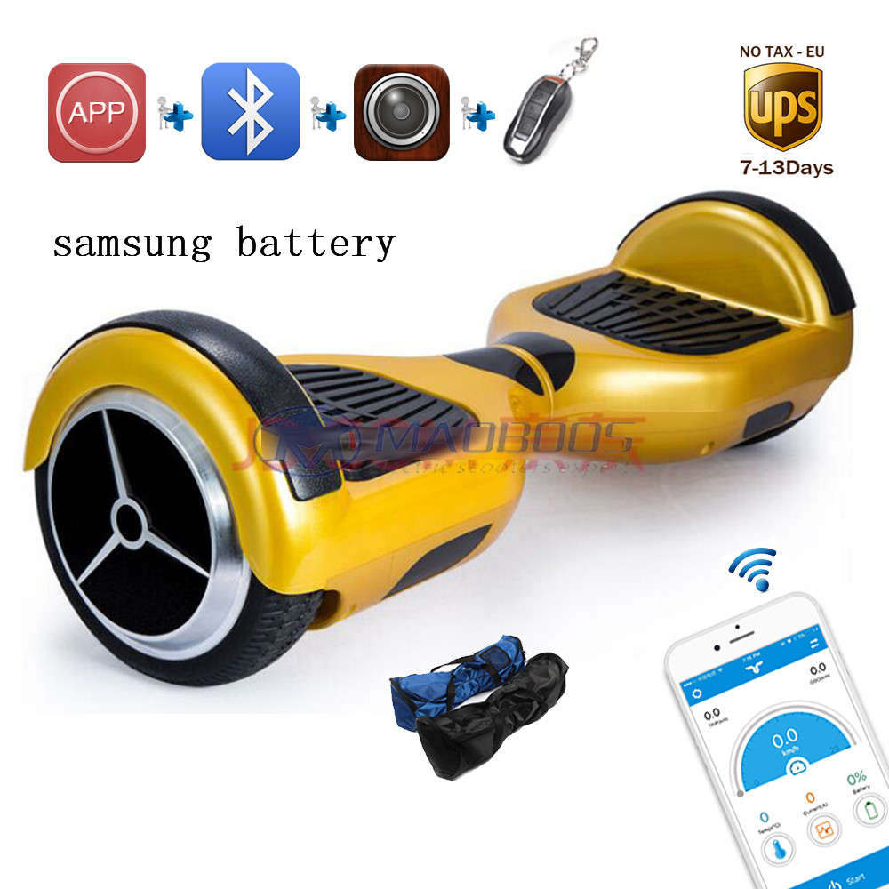 Samsung battery skateboard 2 wheels self balance electric scooter APP skywalker unicycle overboard led light drift hover board certificated hoverboard tw01 self balance scooter 2 wheels built nn samsung battery with charger megawheels