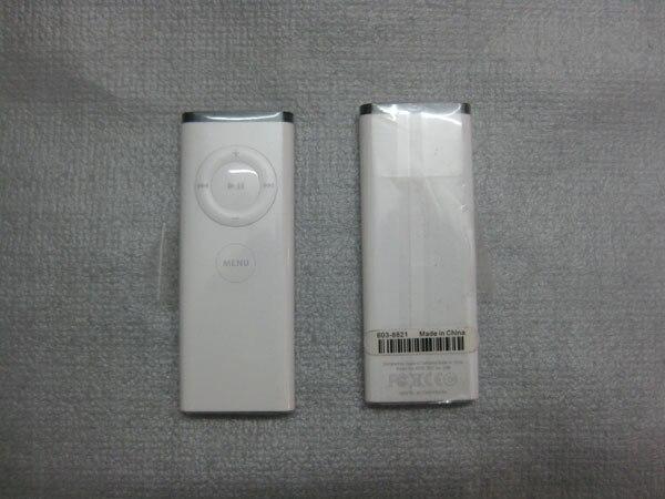 Apple Remote Control White : iPod Dock Macbook Pro Mac Mini iMac ...