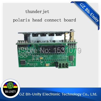 Factory price !! Gongzheng solvent printer spare parts polaris head connected board for GZ3204AU