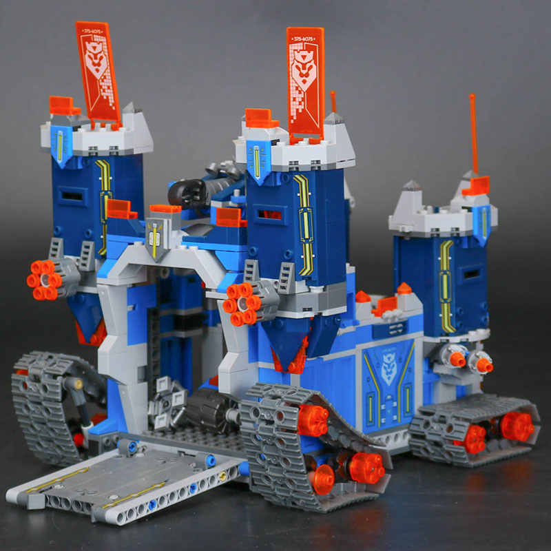 LEPIN 14006 1115pcs Nexo Knights Nexus Knights The Fortrex Castle Building Blocks Bricks 70317 Toy For Kids