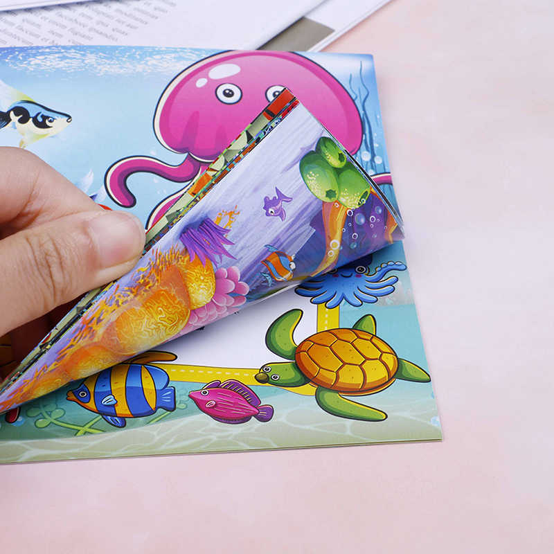 22 Page Cute Dinosaur Style Secret Garden Painting Drawing Kill