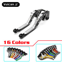 For KAWASAKI VN 650 VULCAN S VN650 VULCANS 2015 2016 2017 Motorcycle Folding Extendable Brake Clutch Levers Accessories
