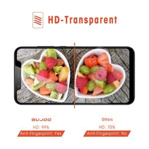 Image 5 - 100% Original BUJOO altamente sensible 2.5D funda completa templada Glass para Xiaomi mi 8 Xio mi 8 9H 0,3mm película protectora de pantalla