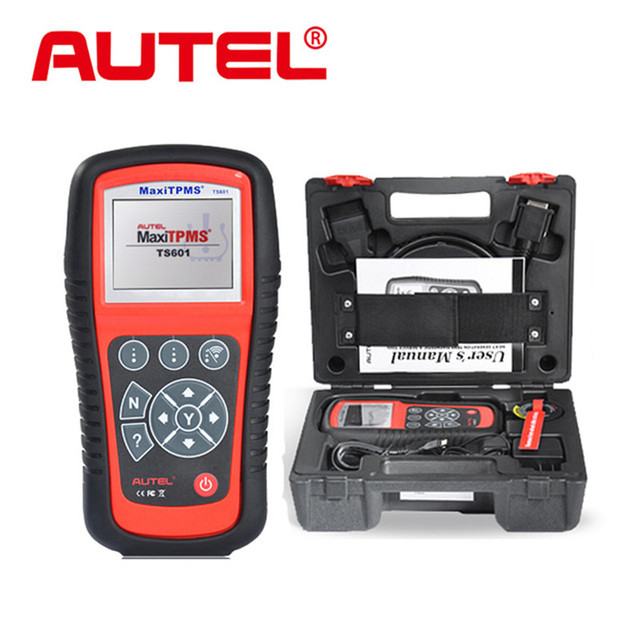 Top-Rated 100% Original Autel MaxiTPMS TS601 TPMS TS 601 Auto Scanner TS-601 Diagnostic and Service Tool One Year Warranty