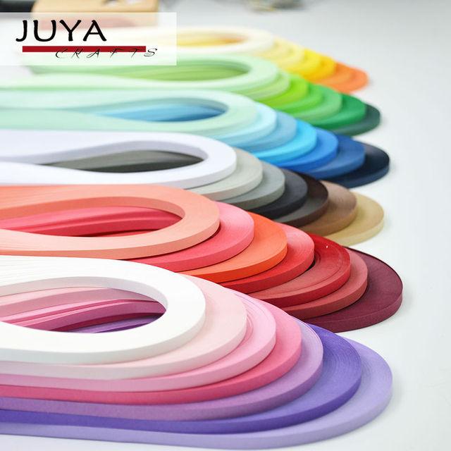 Juyâ Papier Quilling 42 Couleurs 390mm Longueur 35710mm Largeur